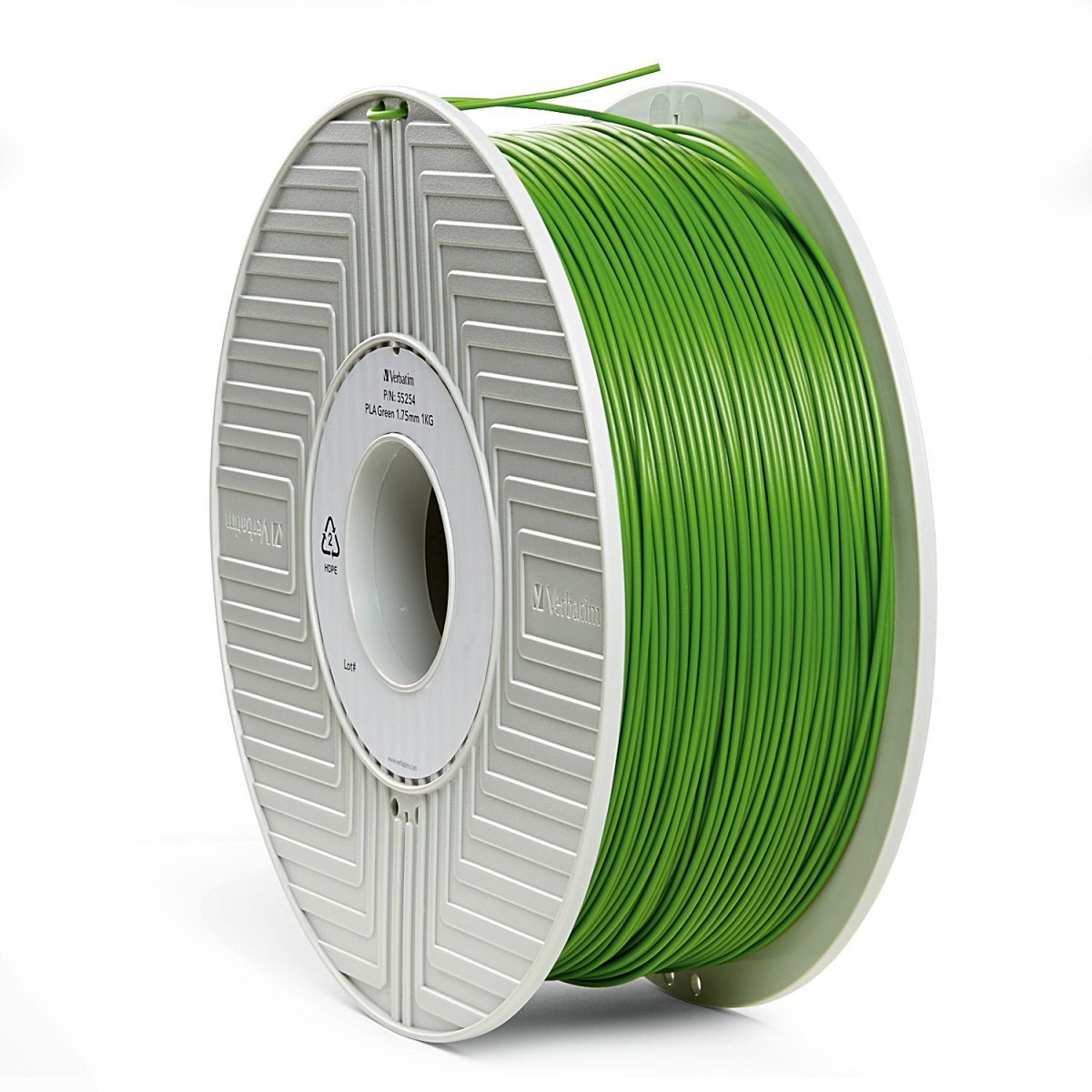 Verbatim 3D Printer Filament - PLA High-Grade 1.75mm 1kg Reel - Widely Compatible with 3D Printers - Orange 55255