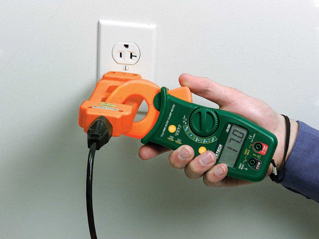 Extech 480172 Ac Line Splitter Home Improvement Wiring 115v Plug In