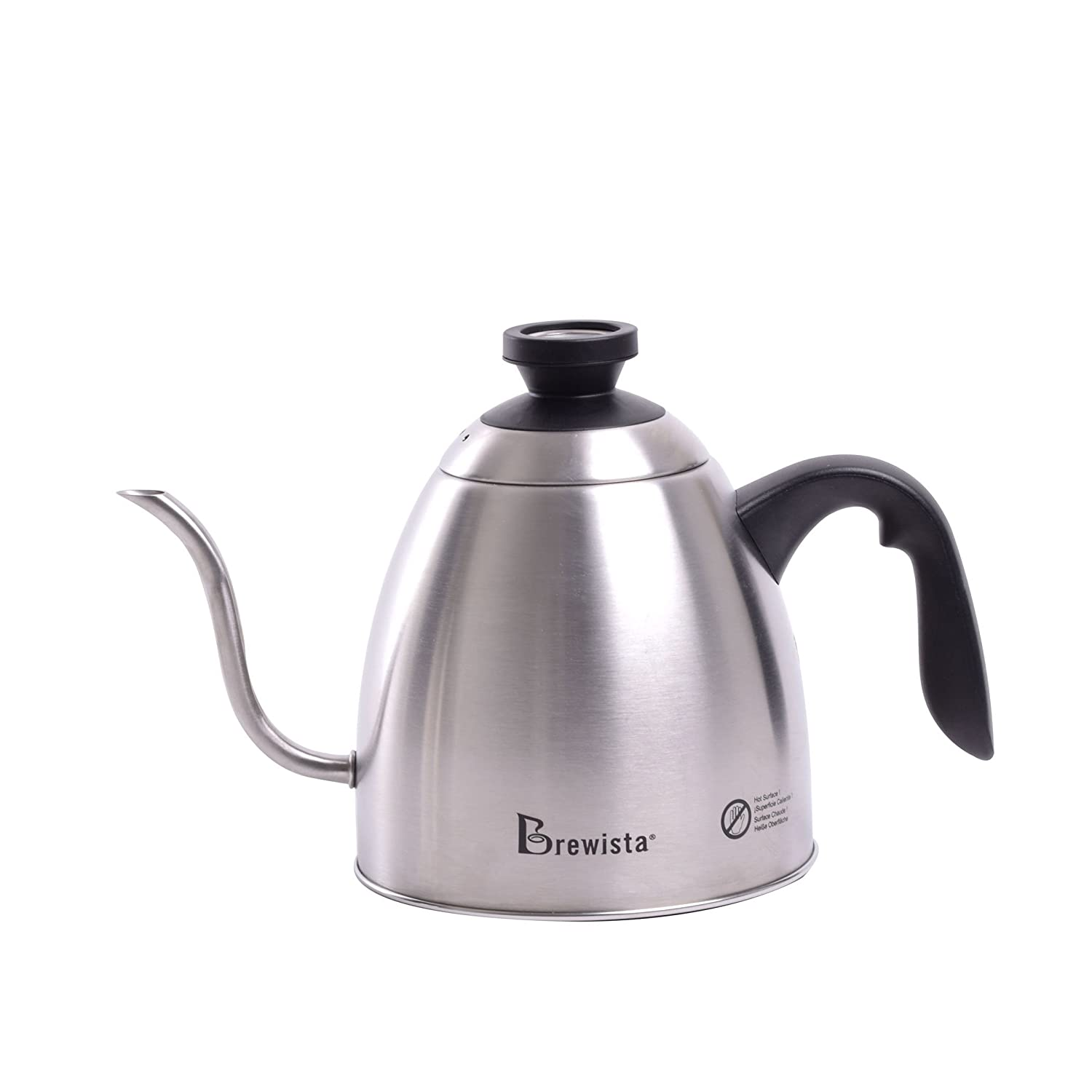 Brewista SmartPour Stovetop Kettle, Stainless Steel (BKS12S01G2TG)