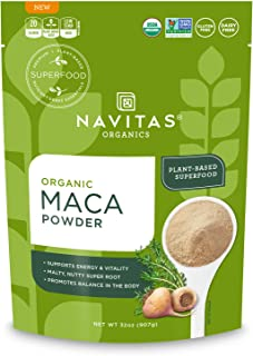 product image for Navitas Organics Maca Powder, 32oz. Bag, 181 Servings - Organic, Non-Gmo, Low Temp-Dried, Gluten-Free