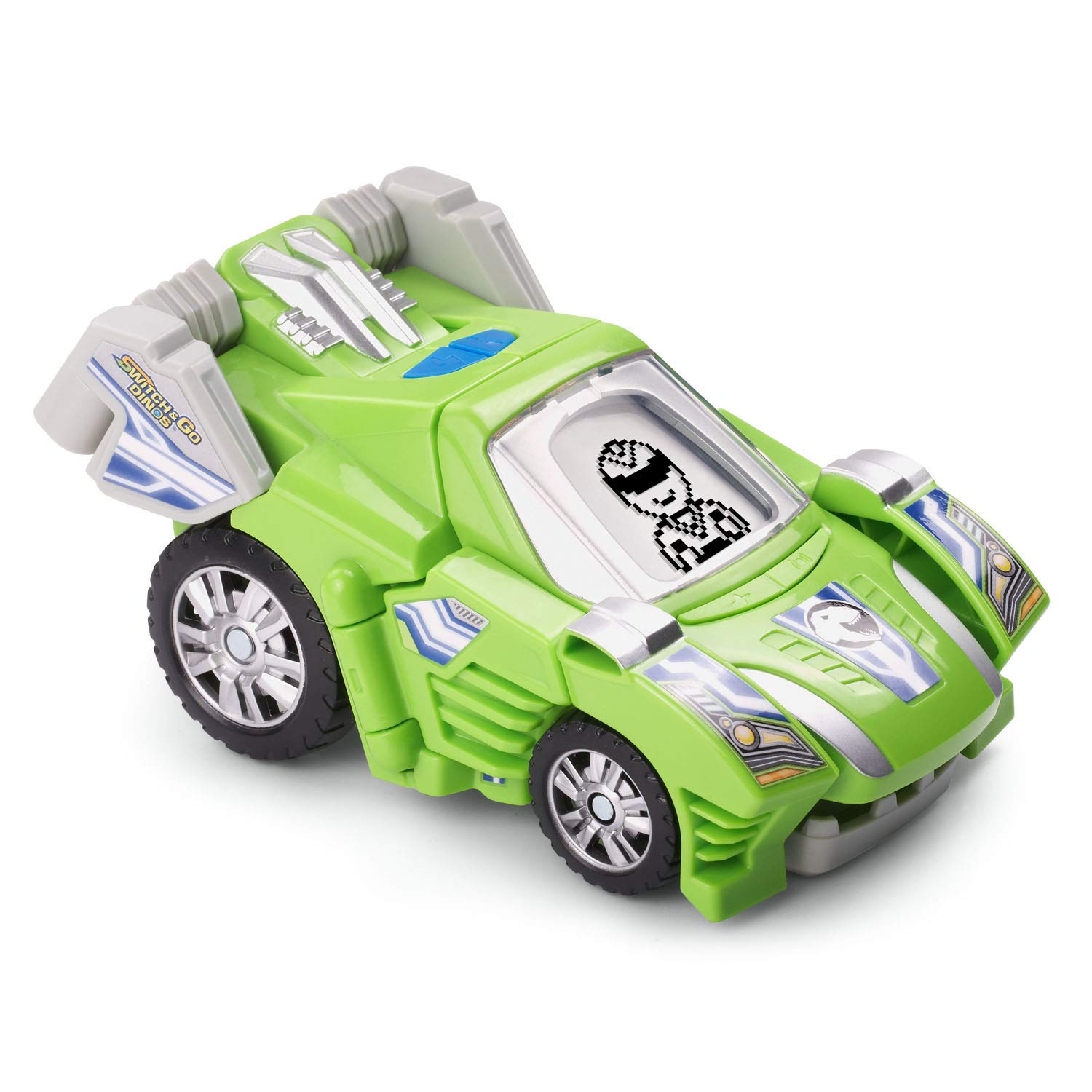V Tech Switch and Go Dinos - Silver the T-Rex Green by VTech (Image #3)
