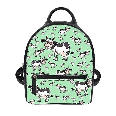 0e559b51da68 ThiKin Cartoon Animal Cute Backpack Purse for Girls Mini Casual Daypacks