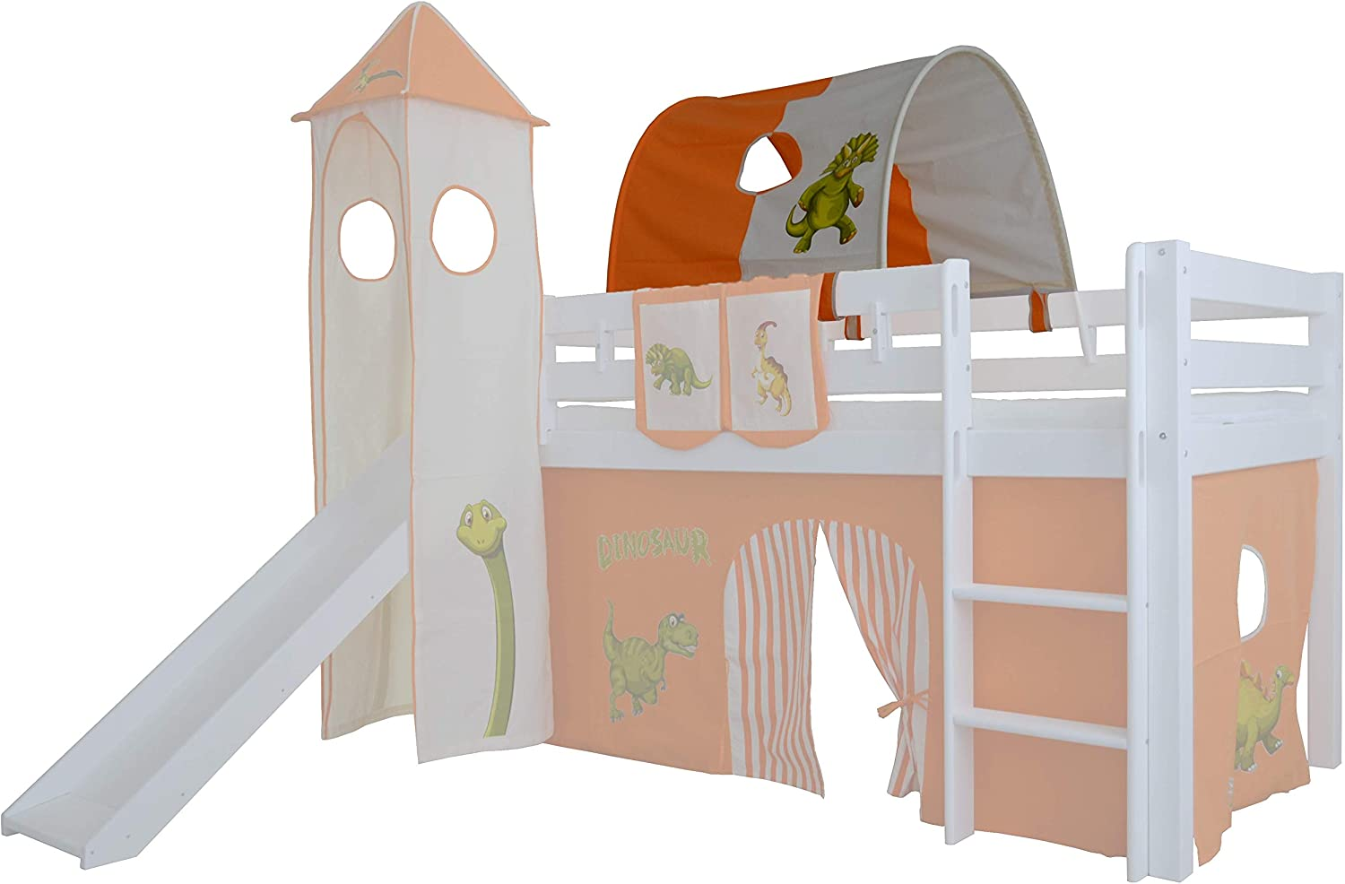 Mobi Furniture Tunnel Dinosaur For Bunk Bed Cave Bunk Bed Play Bed Amazon De Kuche Haushalt