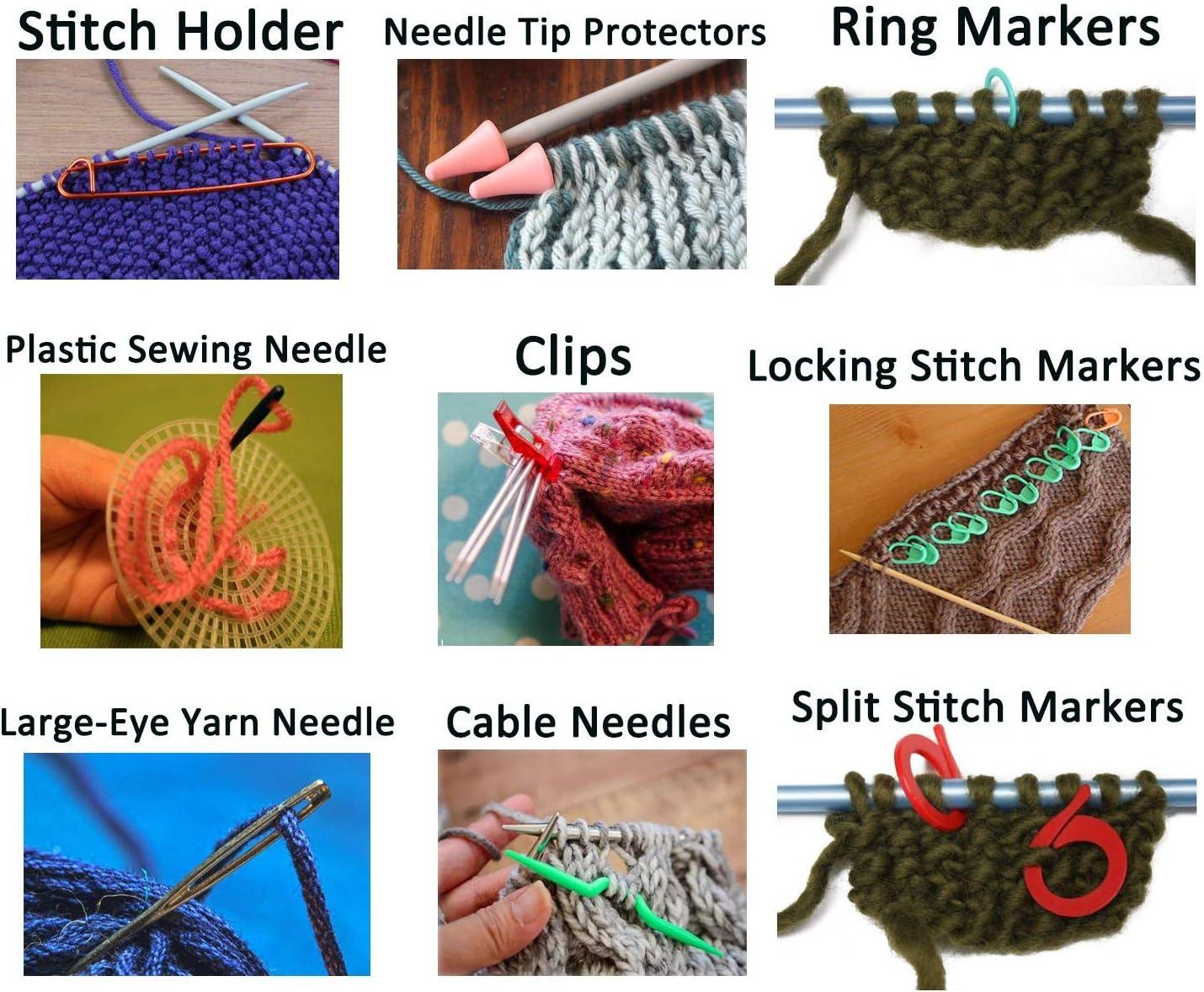 crochet accesories stitch buddies Knitting stitch markers Yarn helper knitting ring Crochet Ring Owl Stitch marker set yarn buddies