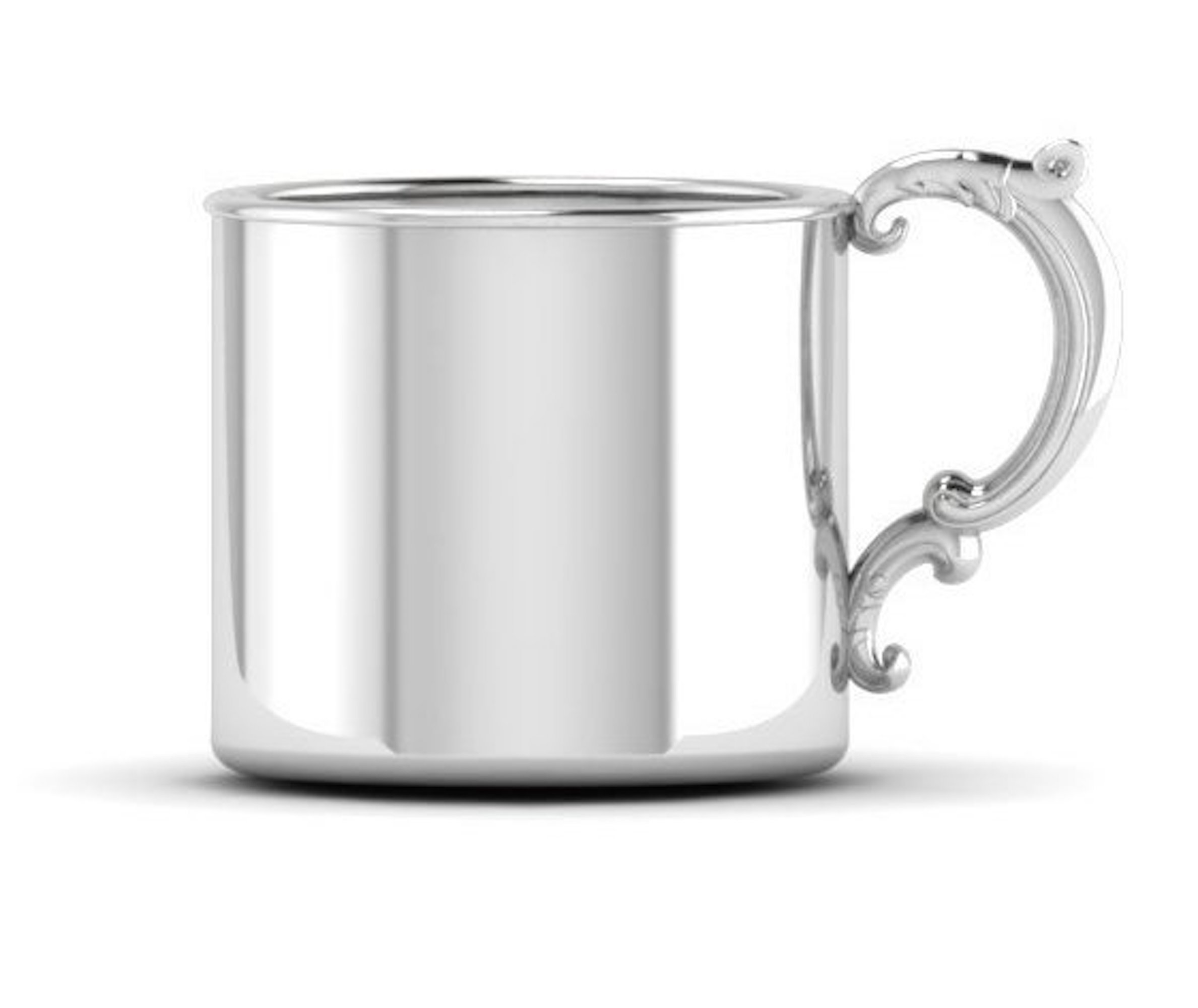 Krysaliis Sterling Silver 5 Ounce Classic Cup with Victorian Handle