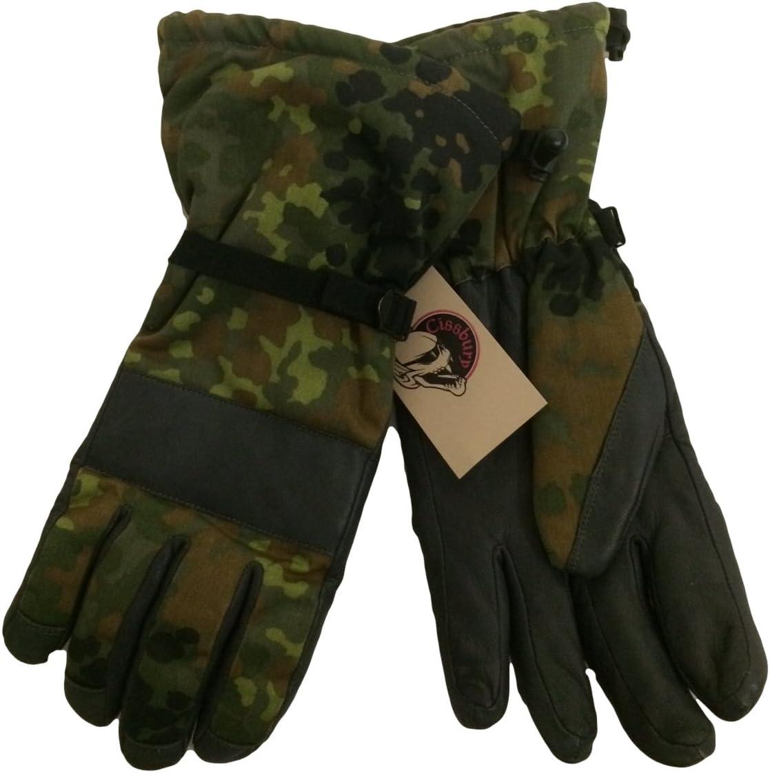Bundeswehr N/úmero Goretex Flecktarn Guantes De Invierno M Alemania Fuerzas