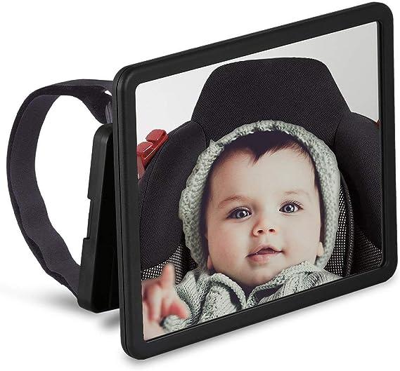 Wicked Chili Schwenkbarer Babyspiegel Für Auto Elektronik