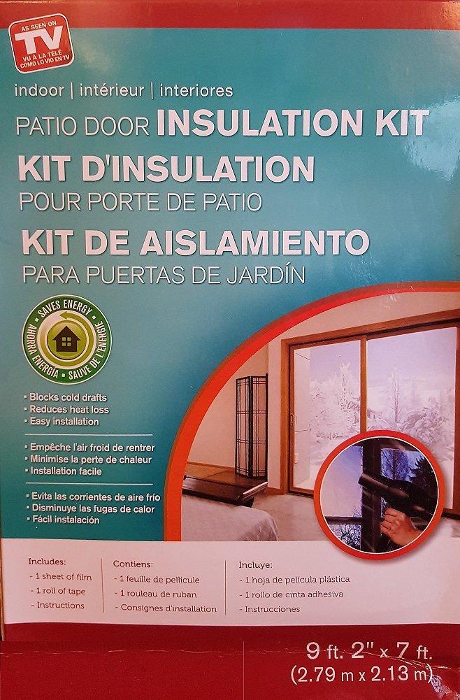 Patio Door Insulation Kit Indoor