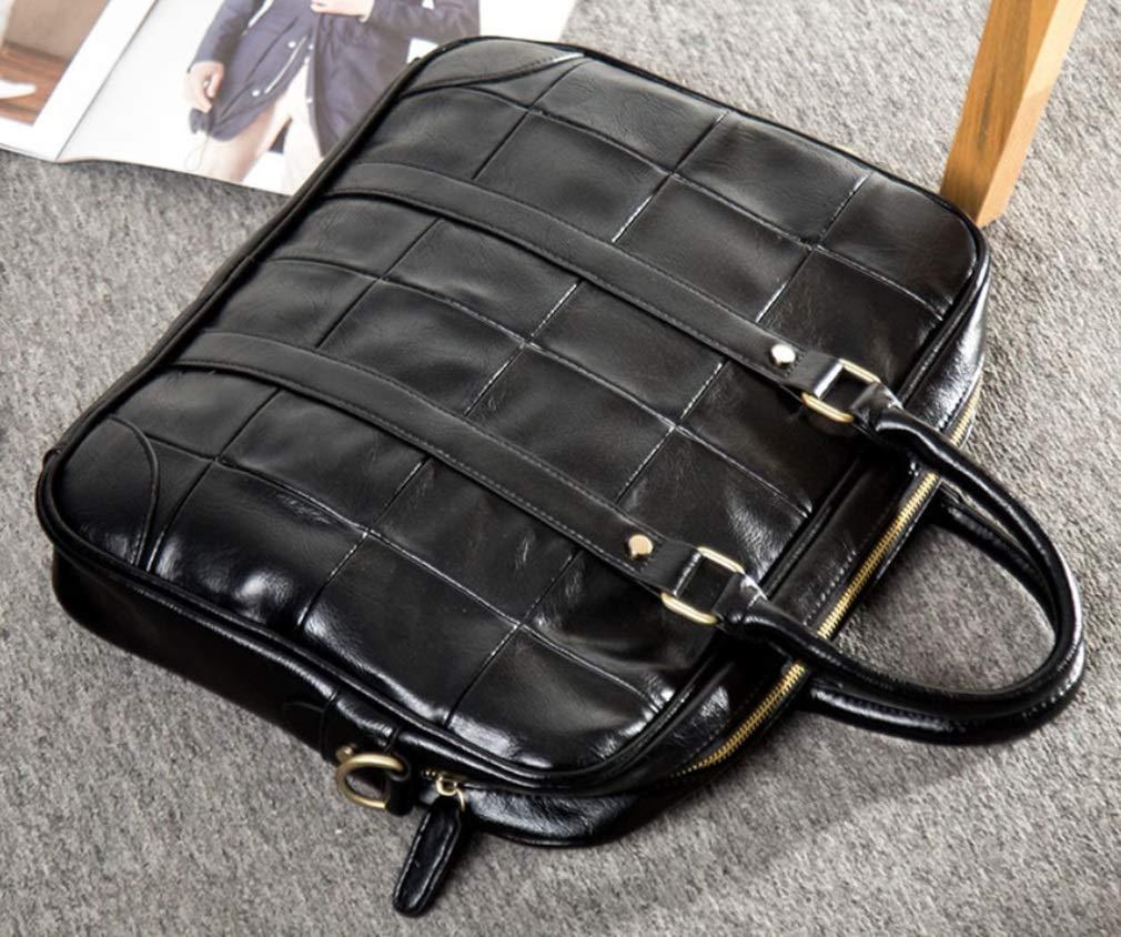 a4a4aedf08a2 Amazon.com: RSQJ Men's Briefcase Handbag Leather Leisure Computer ...