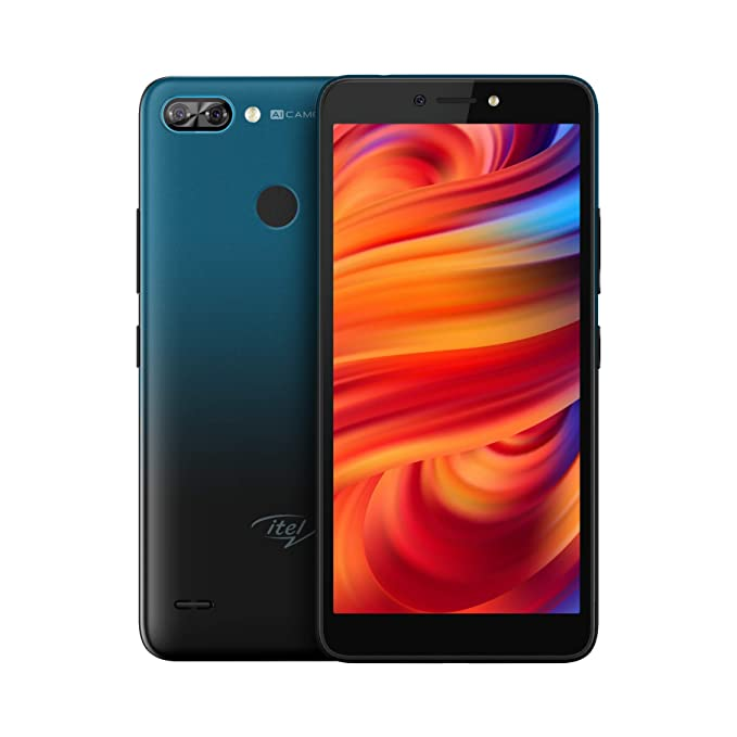 itel A46 (Dark Water, 2GB RAM, 16GB Storage)
