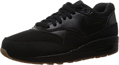 Nike Air MAX 1 Essential, Zapatillas para Mujer, Negro Black Gum Med Brown, 36 EU: Amazon.es: Zapatos y complementos