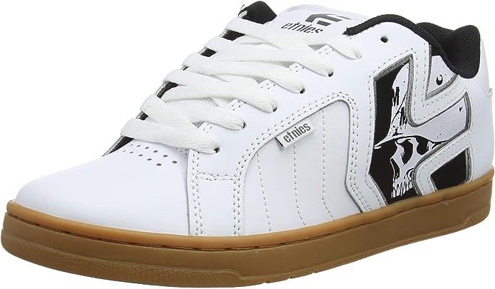 Etnies Fader 2 Metal Mulisha Sneakers Herren Weiß/Schwarz/Kautschuk Größe 41 - 48