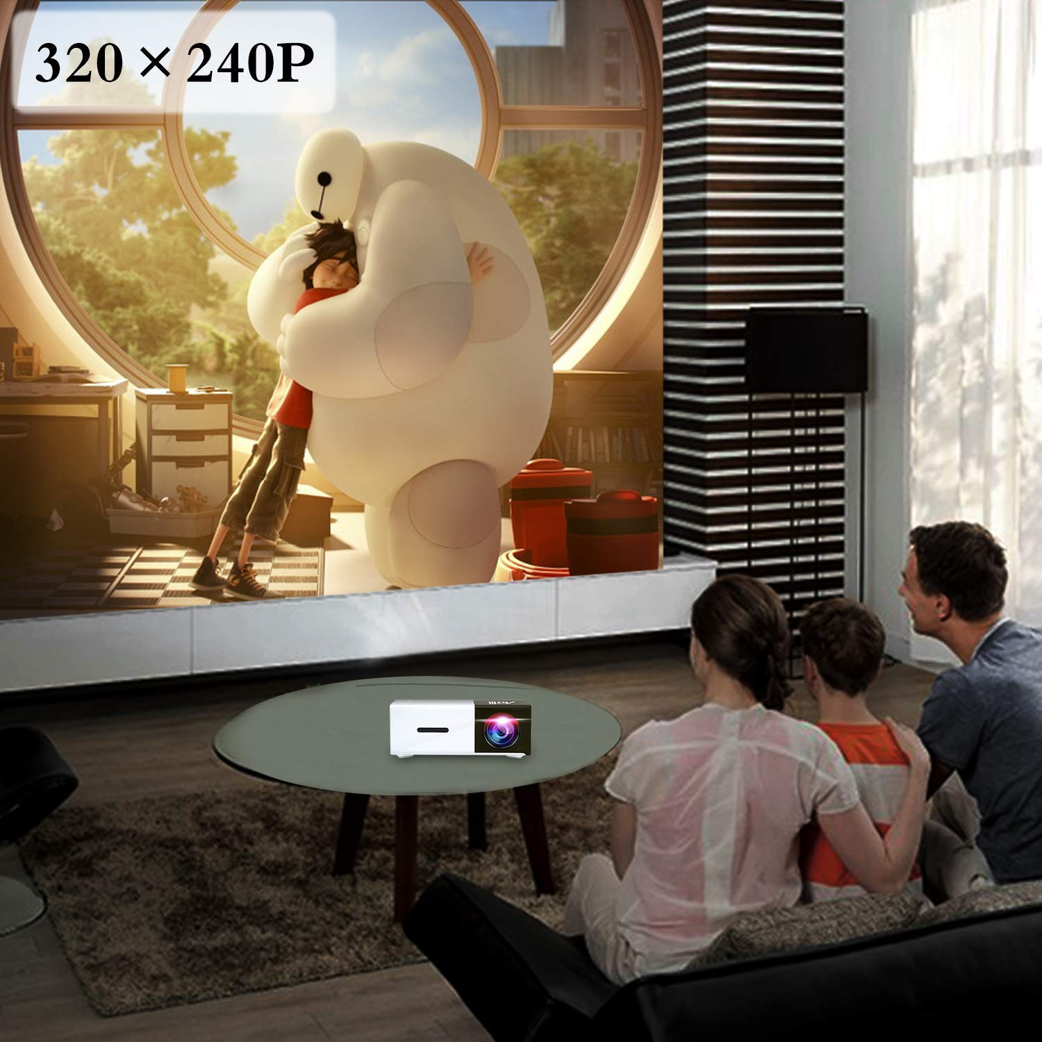 Amazon.com: Pico Projector - Artlii 2019 New Pocket Projector, Mini Projector Compatible with Laptop, iPhone Smartphone for Cartoon and Movie, ...