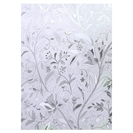 Cooja Frosted Window Film Obscure Opaque Static Cling Window Film