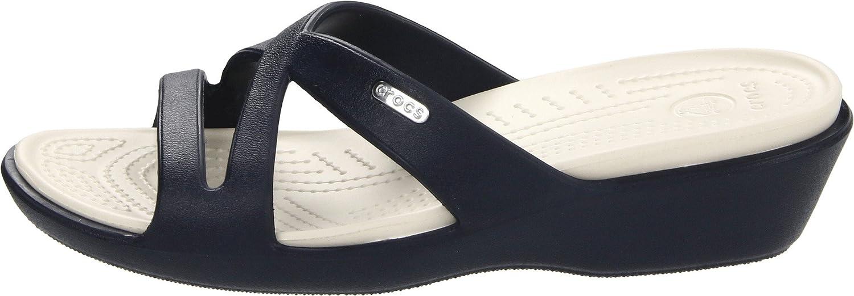 c3723d27ac48 Crocs Women s Patricia II Sandals - Blue (Navy Stucco)