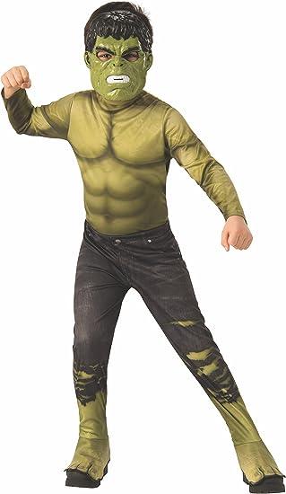 Avengers - Disfraz oficial de Hulk para niño, infantil 5-7 años ...