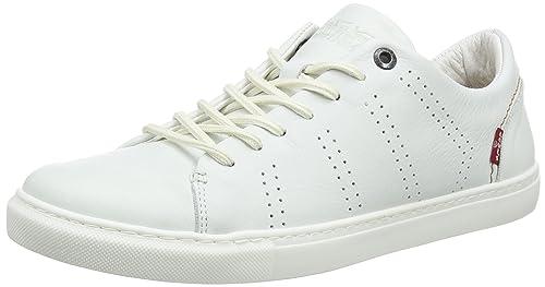Levis Vernon, Zapatillas para Hombre, Blanco (Noir Regular White 51), 40