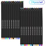 24 Fineliner Color Pen 0.4mm, Smoothly Colored Sketch Drawing Pens and Note Taking, ARTA-301