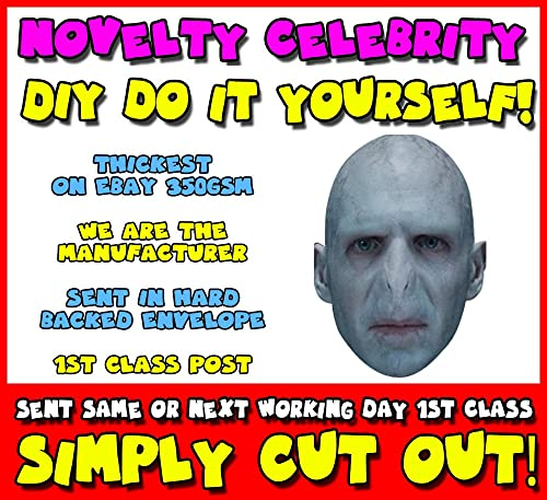 Voldemort style halloween mask full head mask costume cosplay diy do it yourself face mask voldemort celebrity face mask solutioingenieria Gallery
