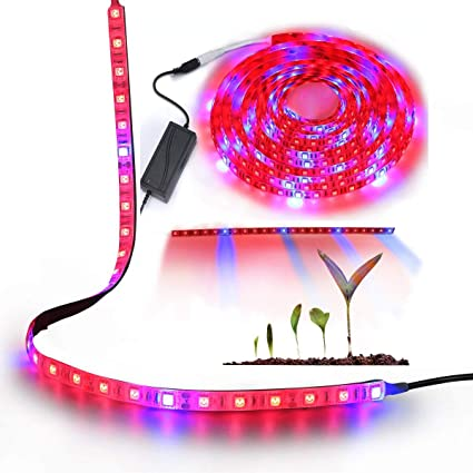 Strip Light Lamp Tape Waterproof Full Spectrum Flexible Growing Plants Lighting