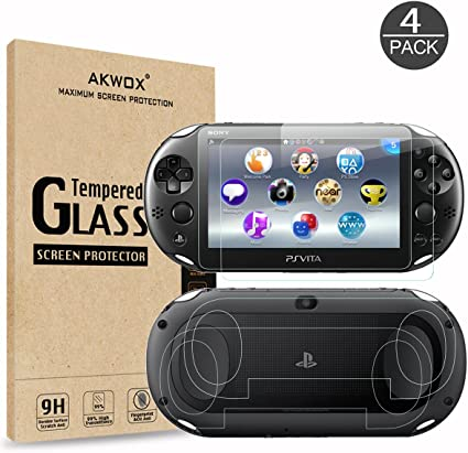 Amazon.com: Akwox - Protector de pantalla para PS Vita 2000 ...