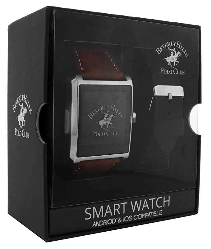 Amazon.com: Beverly Hills Polo Club Smart Watch Interchangeable Set: Watches