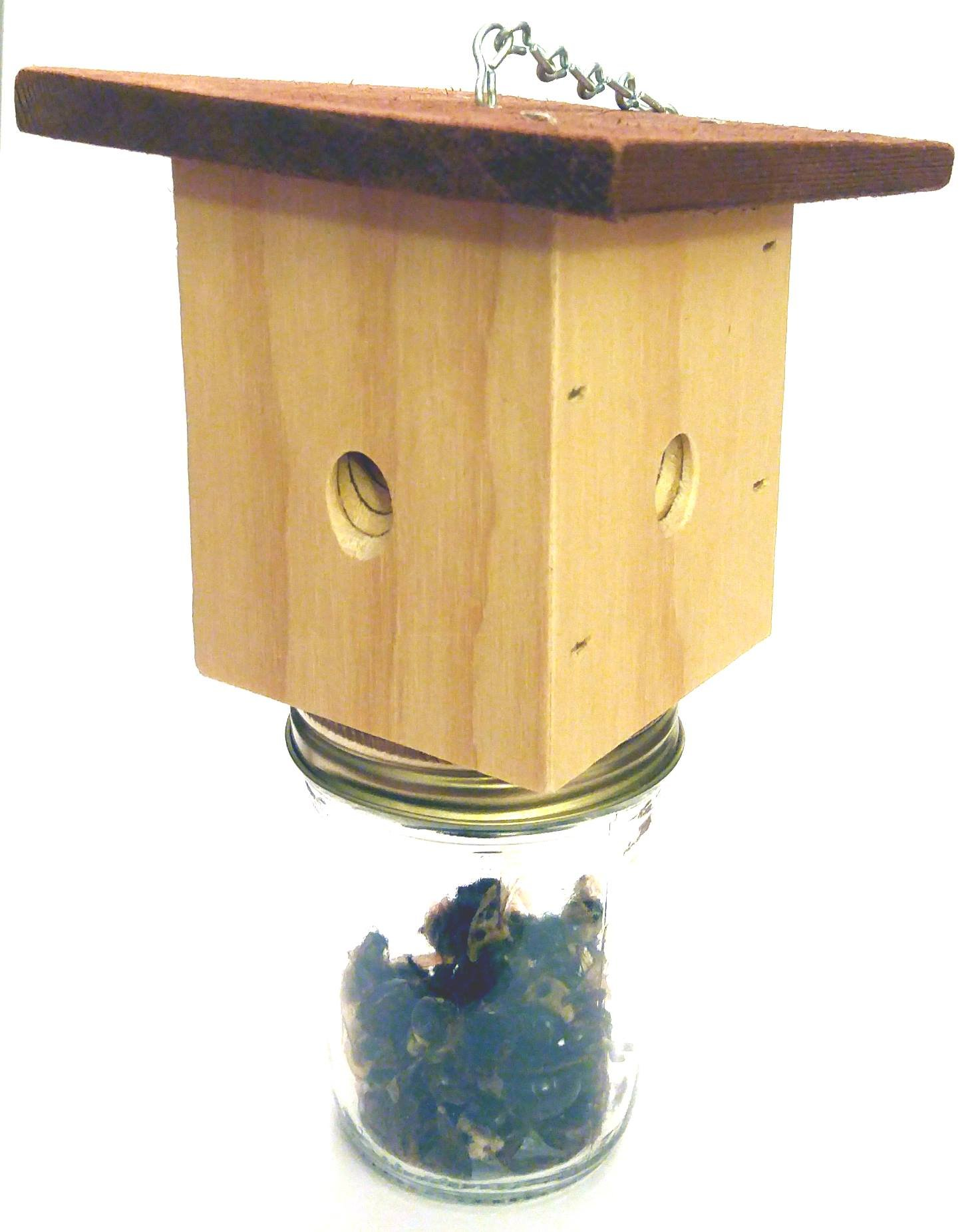 Donaldson Farms - Carpenter Bee Trap - Effective for Catching Those Pesky Carpenter Bees!