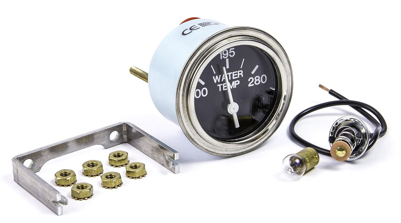 2 2 Teleflex 80593P Sierra International Heavy Duty Electric 280 Degree F Water Temp Gauge for Inboard /& Diesel Engines