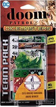 Amazon.com: NECA DC Comics Dice Masters: Doom Patrol Team Pack: Toys & Games