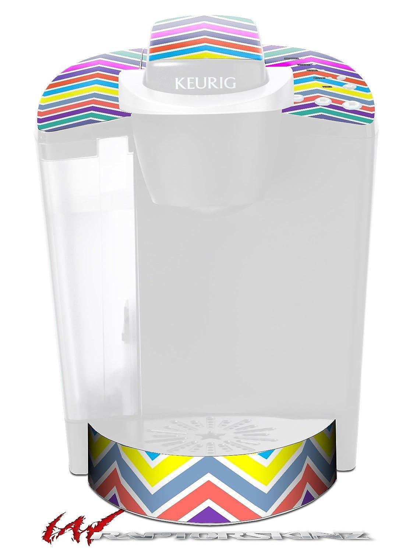 Zig Zag色04 – デカールスタイルビニールスキンFits Keurig k40 Eliteコーヒーメーカー( Keurig Not Included )   B017AK5SBS