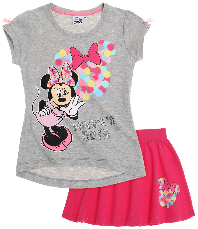 Disney Minnie Ragazze Maglietta e gonna 2016 Collection - fucsia