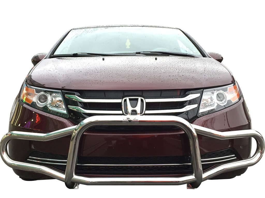 Amazon.com: VANGUARD Off Road VGFRG-0483SS For Honda Odyssey 1999-2017 Bumper  Guard Stainless Steel Front Runner: Automotive