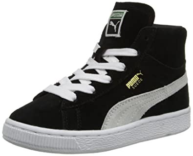 puma suede mid nere