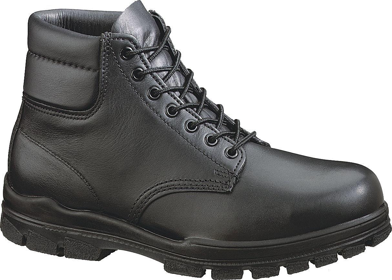 Men 's Bates 6」米国海軍Durashocks Steel Toe Boots B000MWR306 6.5 3E US|ブラック ブラック 6.5 3E US