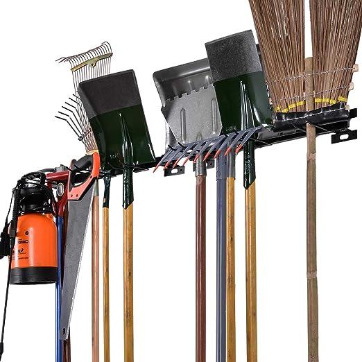 ElevenII Support de v/élo Pliable pour Montage Mural Syst/ème de Support r/églable pour la Maison et Le Garage Support de v/élo pour 5 v/élos