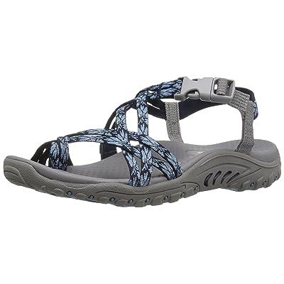 Skechers Women's Reggae-Luau Toe Ring Sandal   Sport Sandals & Slides