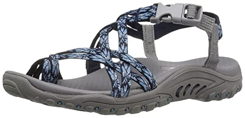 1f1cc2fa274e Image Unavailable. Image not available for. Colour  Skechers Women s Reggae-Luau  Toe Ring Sandal