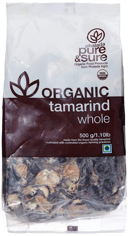 Pure & Sure Organic Tamarind Whole, 500 g