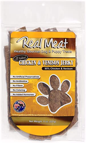 The Real Meat Company Dog Treats, Chicken Venison