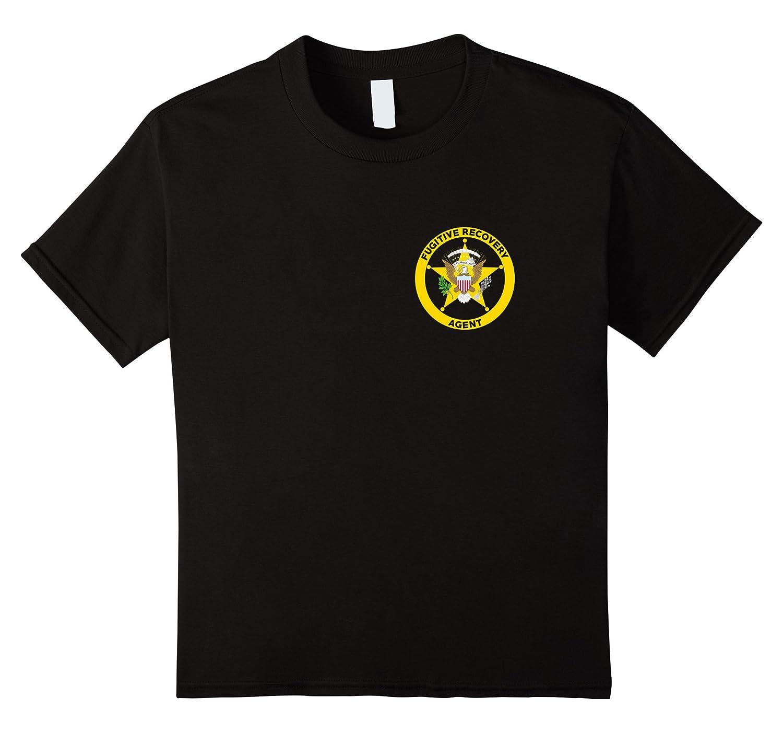 Bounty Hunter T Shirt Fugitive Recovery-Xalozy