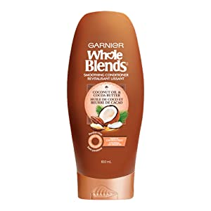 Garnier Whole Blends Conditioner with Coconut Oil & Cocoa Butter Extracts, 22 Fl Oz (1 Count)