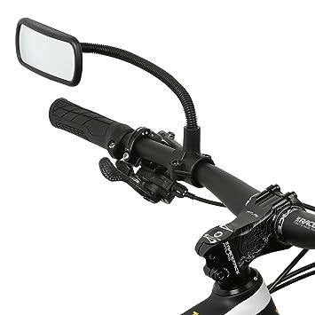 Wicked Chili – Espejo retrovisor para bicicleta, e-bike, monopatín, silla de ruedas, andador, cochecito, ...