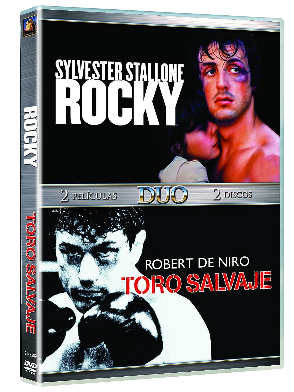 Duo Rocky + Toro Salvaje [DVD]: Amazon.es: Carl Weathers, Talia Shire, Sylvester Stallone, Burgess Meredith, Robert De Niro, Cathy Moriarty, Joe Pesci, Frank Vincent ...
