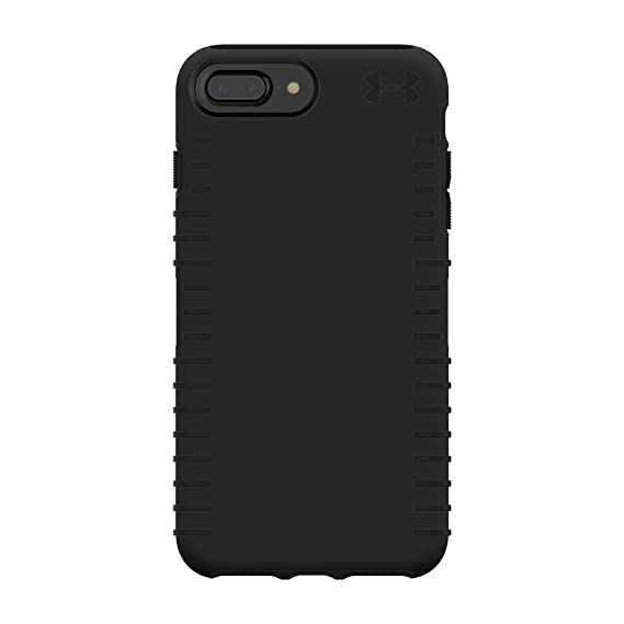 newest f8672 6fb69 Under Armour UA Protect Grip Case for iPhone 8 Plus, iPhone 7 Plus, iPhone  6s Plus, iPhone 6 Plus - Black/Black