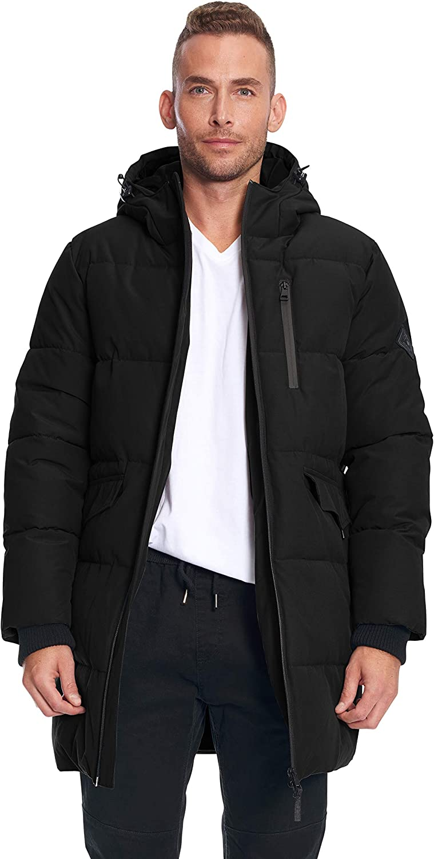 Alpine North Mens Vegan Down Winter Puffer Coat at Amazon Men's Clothing  store