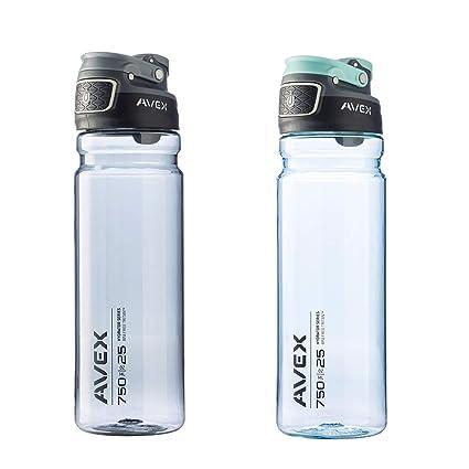 Amazon.com: Avex Freeflow Autoseal 25oz de plástico botella ...