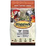 Higgins Safflower Gold Food For Parrots, 25-Pound