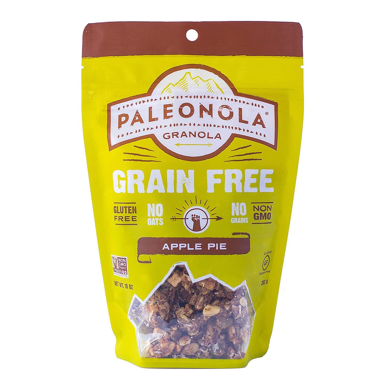 Paleonola – Grain Free Granola Apple Pie Flavor – Non-GMO, Grain, Soy, Gluten, Dairy Free – Low Carb Protein Snack For A Healthy Breakfast