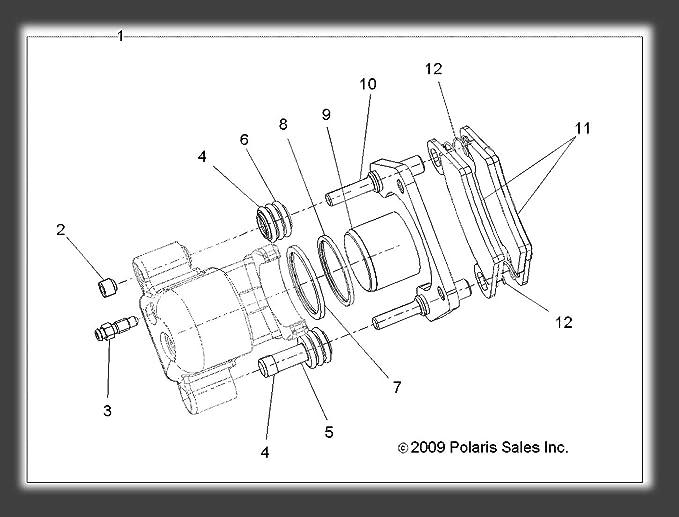 Amazon Com Polaris 2010 2013 Polaris Lsv 4x4 Ranger Evlev 4x4