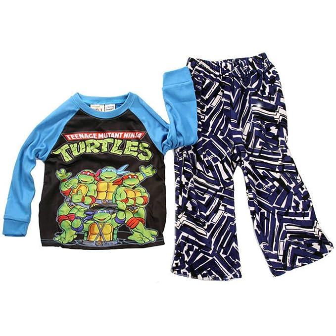Pijama Tortugas Ninja 100% algodón 2/3/4/5/8 años: Amazon.es ...